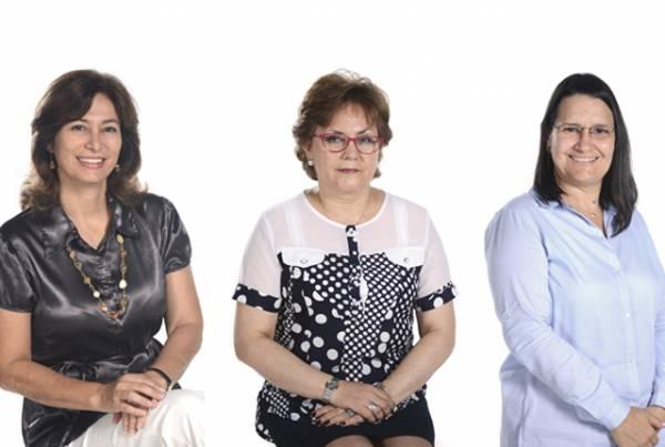 Nuevas directoras de programas académicos y jefe de Departamento