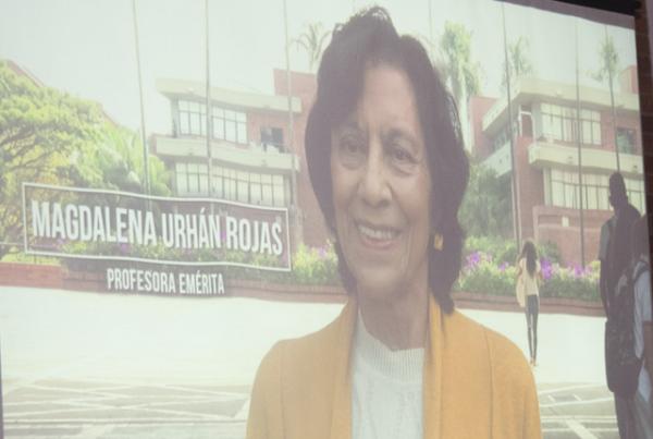 Magdalena Urhán, primera 'Profesora Emérita' de la Autónoma de Occidente