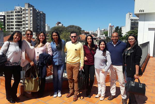 Autónomos en misión empresarial y académica en Uruguay