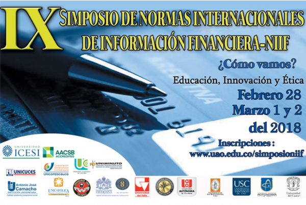 Innovación, educación y ética profesional en Simposio NIIF