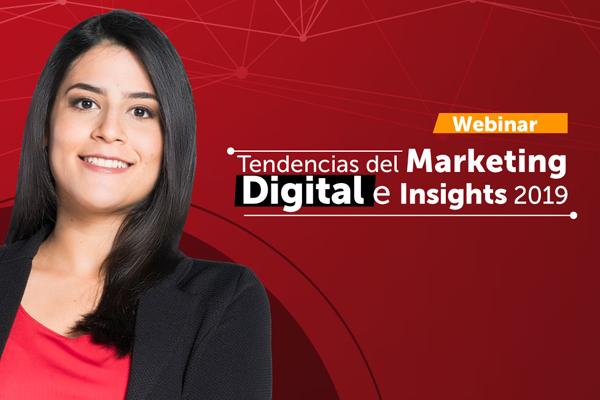 Webinar: tendencias del marketing digital e insights
