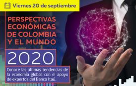 Perspectivas económicas para Colombia y el mundo en el 2020