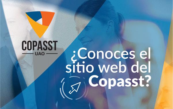 ¿Conoces el sitio web de Copasst?