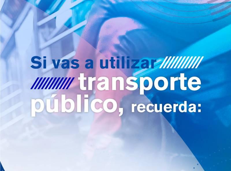 Juntos somos más fuertes: recomendaciones para utilizar el transporte público