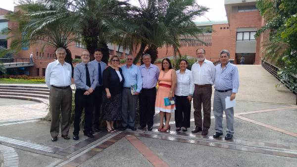 Visita de directivos del College of Environmental Sciences and Forestry-ESF, Syracuse, New York