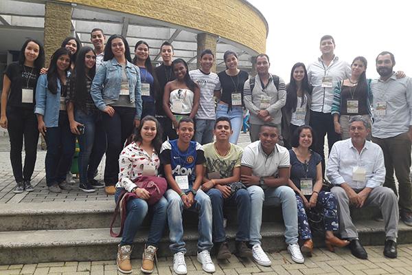 Encuentro con los invitados al Coloquio de la facultad de Ciencias Básicas