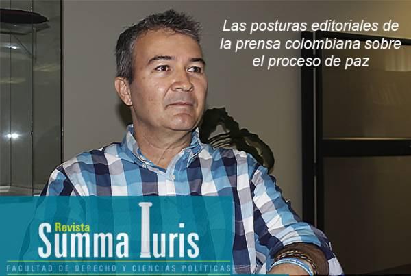 Analizando el proceso de paz en las editoriales de la prensa colombiana