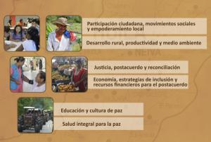 Foro - taller sobre la paz territorial en universidad surcolombiana
