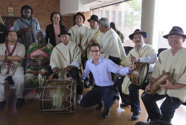 En la UAO se conmemoró el 'Encuentro de Tres Mundos'