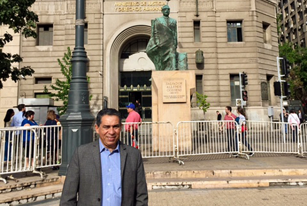 Visita a Santiago de Chile para aunar esfuerzos en temas de Derechos Humanos