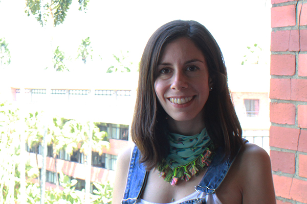 María Clara, una docente que evoca la escritura