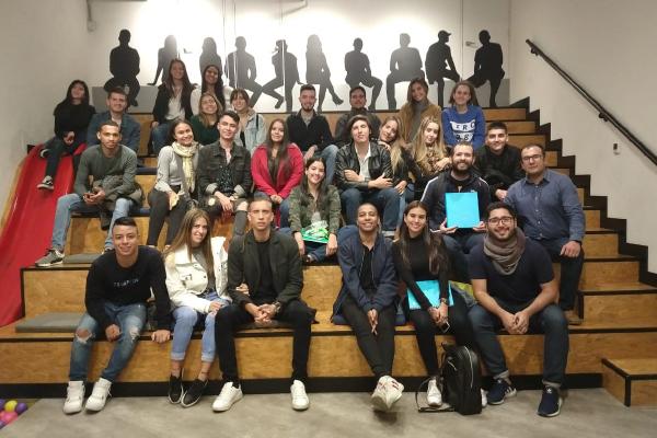 Publicistas en misión académica en Bogotá