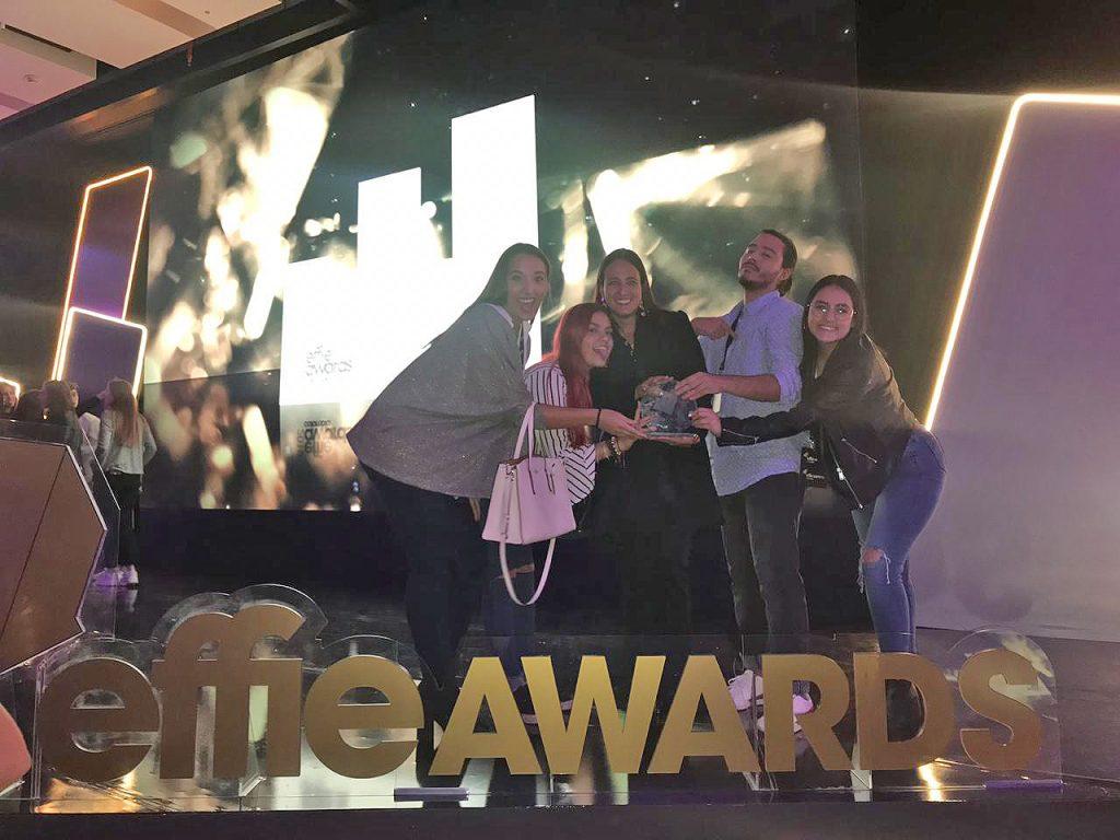 Publicistas obtienen galardón de plata en Effie College