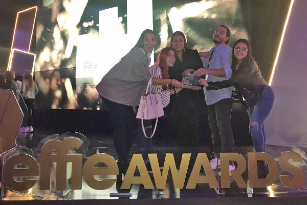 Publicistas con galardón de plata en Effie College