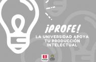 La Universidad apoya tu producción intelectual