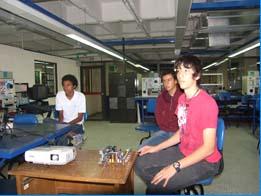 Estudiantes de colegios vivieron la ingeniería
