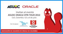 Cali se prepara para la tercera versión de 'Asuoc Oracle OTN Tour 2012'