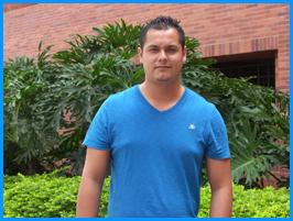Estudiante mexicano visita la UAO