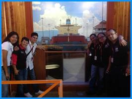 Estudiantes de pregrado y posgrado participaron en misión a Panamá