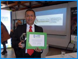 Profesor UAO obtuvo Premio Internacional en Energía.