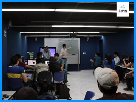 Expin Media Lab realiza BootCamp sobre experiencias interactivas