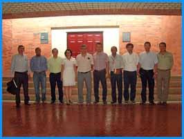 Mesa de trabajo con la empresa DITE S.A.