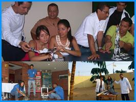 Mujeres cabeza de familia de Aguablanca realizaron taller en el FabLab Cali