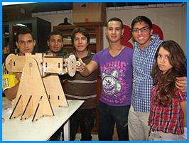 Estudiantes socializaron proyectos mecatrónicos