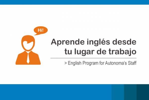 Aprende inglés desde tu lugar de trabajo