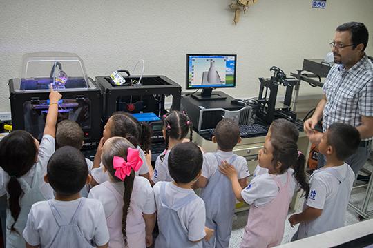 Tecnologías de fabricación digital para niños