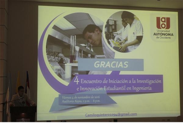 4to Encuentro de Iniciación a la Investigación e Innovación Estudiantil en Ingeniería