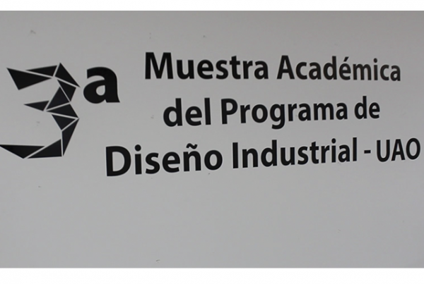 Proyectos académicos: III muestra de Diseño industrial