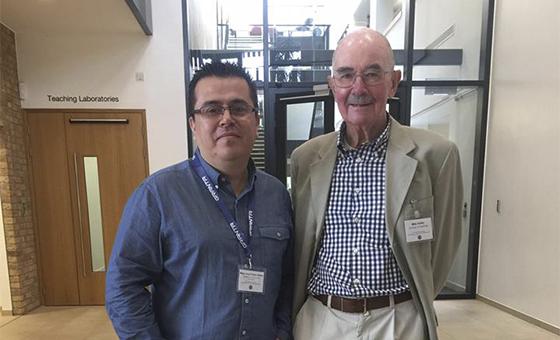 Profesor Autónomo expone su experiencia en la Universidad de Cambridge