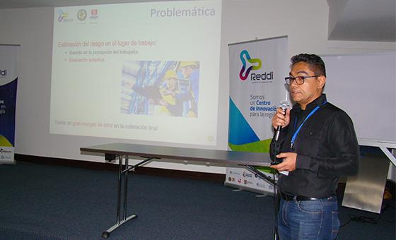 Soluciones tecnológicas presentadas por profesor de la facultad de Ingeniería en el Experience Day Reddi