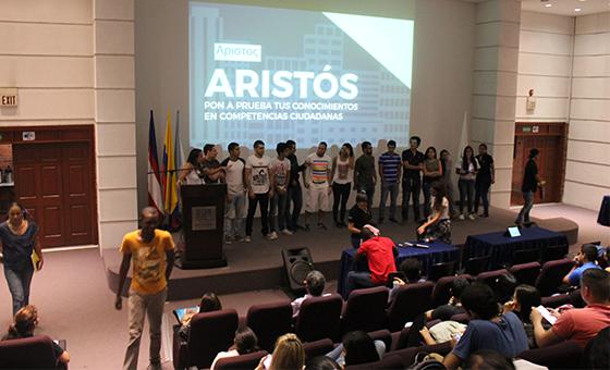 Niños de Potrero Grande, aprendiendo de Cultura ciudadana gracias a estudiantes de  la facultad de Ingeniería de la UAO