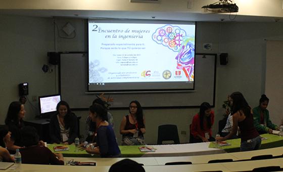 El segundo encuentro de 'Mujeres en la Ingeniería', las mujeres opinan en temáticas de ciencia y tecnología