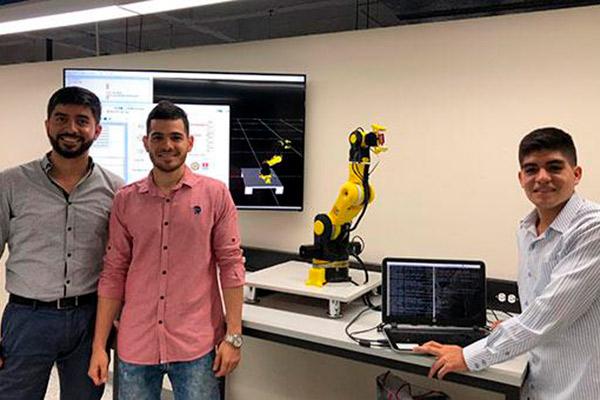 'Centauri', el robot de los Autónomos