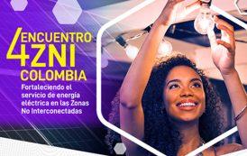 'IV Encuentro ZNI Colombia: Fortaleciendo el servicio de energía eléctrica en las zonas no interconectadas'