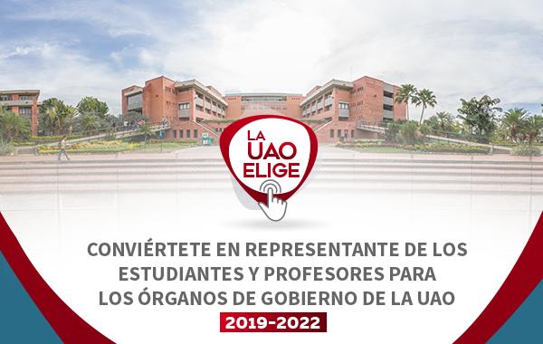 Conviértete en representante de los estudiantes y profesores para los Órganos de Gobierno de la UAO