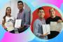 Estudiantes ganaron iPad por la encuesta de opinión