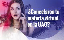 ¿Cancelaron tu materia virtual en la U?