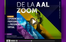 'De la A al Zoom: experiencias de profesores en la virtualidad'