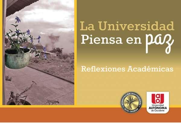 La Universidad 'Piensa en Paz'