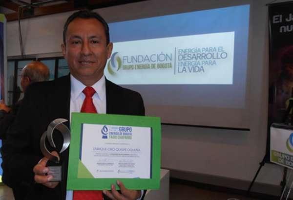 Profesor Autónomo obtuvo Premio Internacional en Energía
