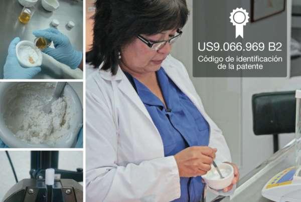 Biocompuesto de regeneración ósea con patente internacional