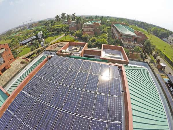 La Autónoma lo hace bien en eficiencia energética