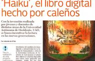 Libro app 'Haiku' creado en la UAO