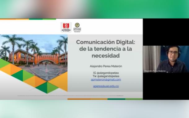 Revive el webinar 'Comunicación digital'