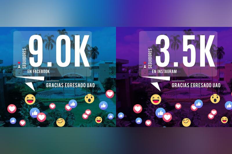 Llegamos a los 9K y 3.5K en nuestras redes sociales, y tú ¿ya nos sigues?