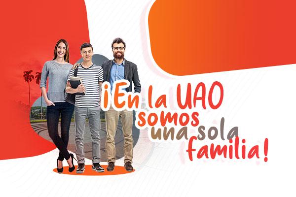 ¡En la UAO somos una sola familia!